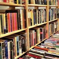 Book Fair shelving