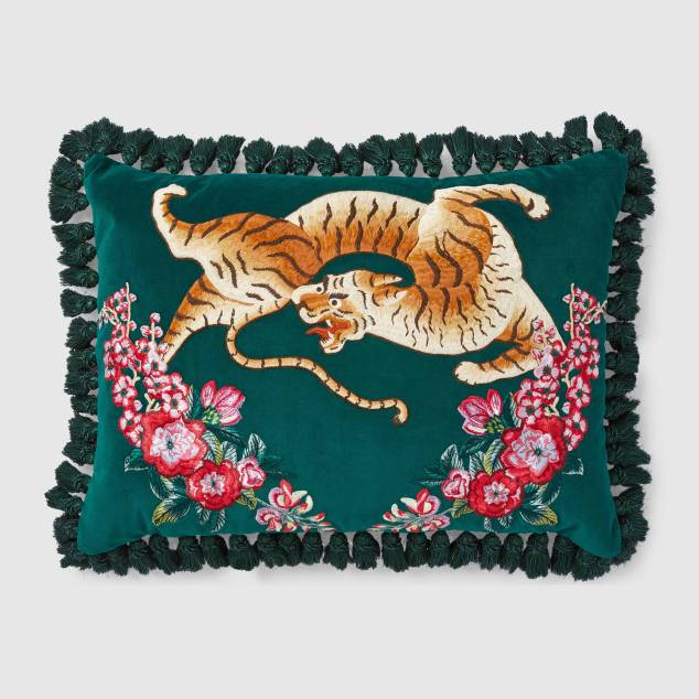 Grandma Chic Gucci Pillow 2